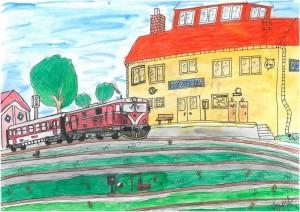 Osoblaha - vlakové nádraží, Andreas Dobrovolný 12 let